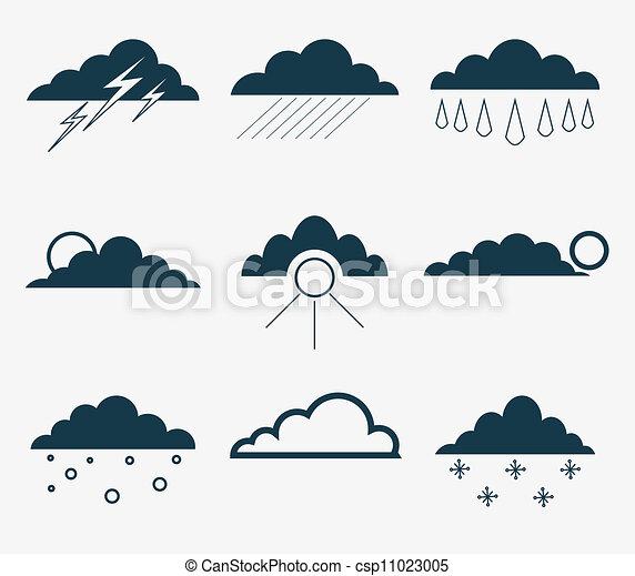 Weather icons - csp11023005