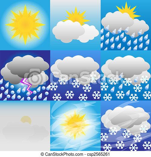 Meteorología meteorológica - csp2565261