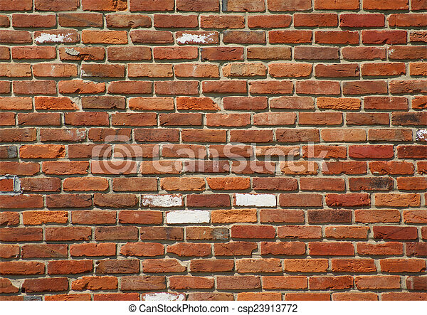Weathered Brick Background - csp23913772