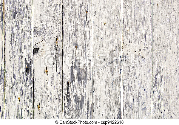 Weathered Paint on Wood - csp9422618