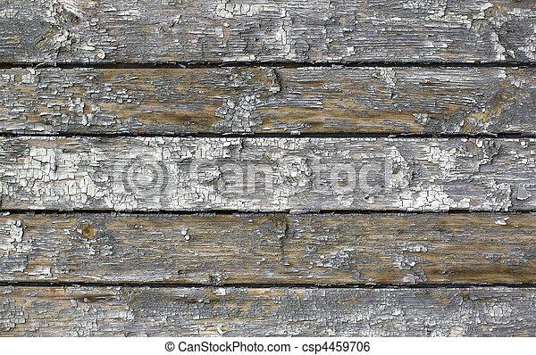 Weathered wood background - csp4459706