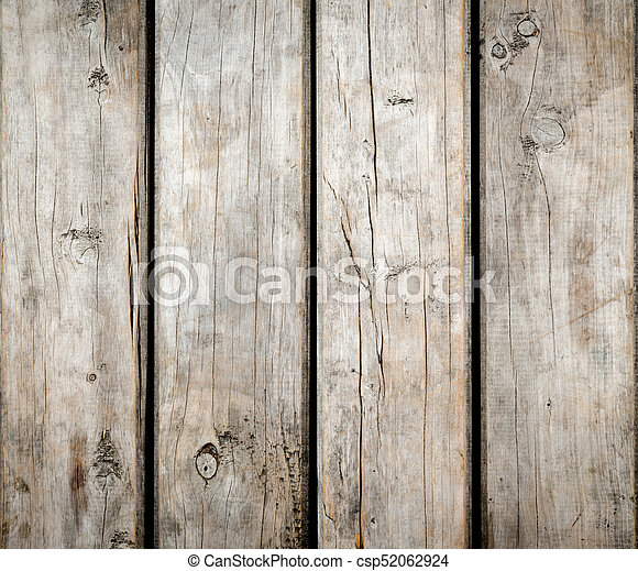 Weathered Wooden Background - csp52062924
