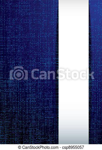 Weave modern blue - csp8955057