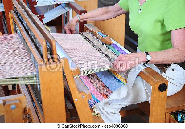 Weaving machine. - csp4836808