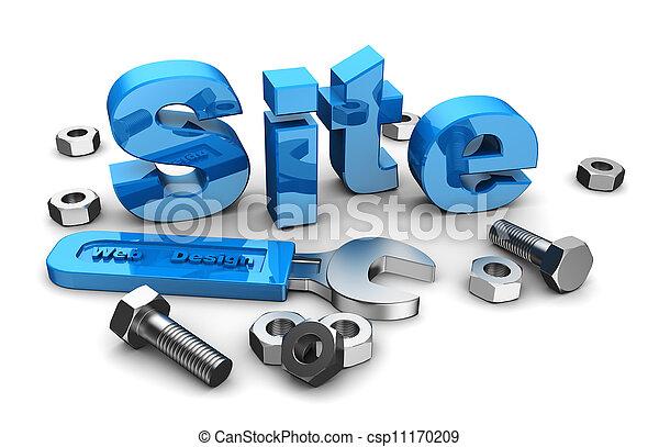 web, дизайн, сайт - csp11170209