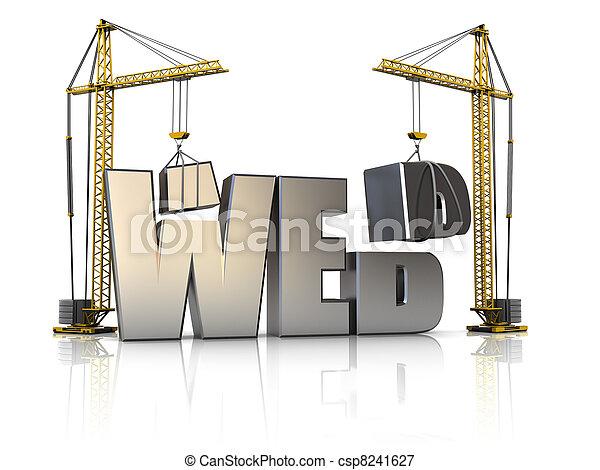 web, строительство - csp8241627