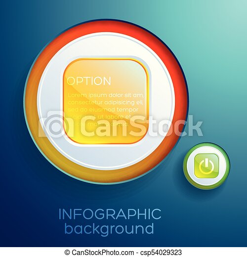 Web Abstract Infographics - csp54029323