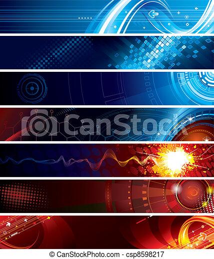 web, banner - csp8598217
