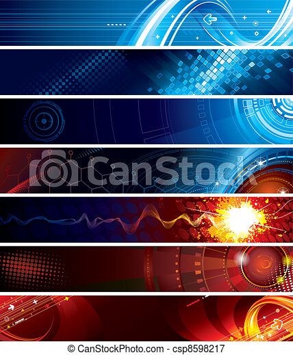Web Banners - csp8598217