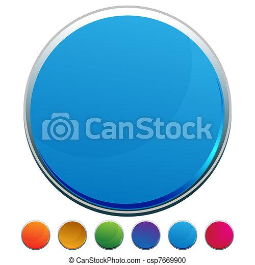 web, bottone, rotondo - csp7669900