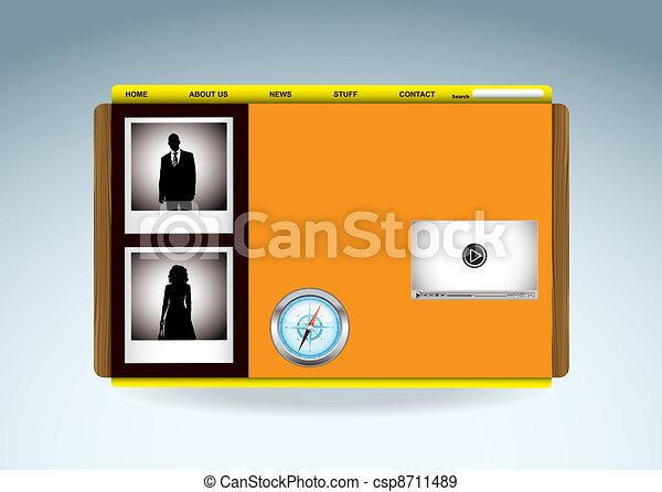 Web business template - csp8711489