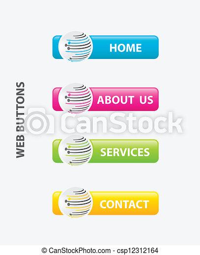web buttons - csp12312164