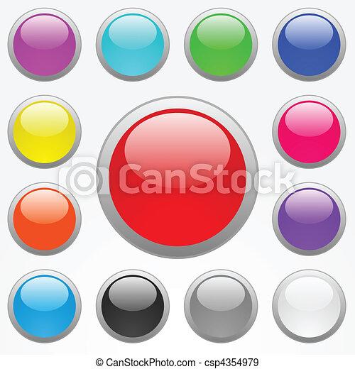 Web Buttons - csp4354979