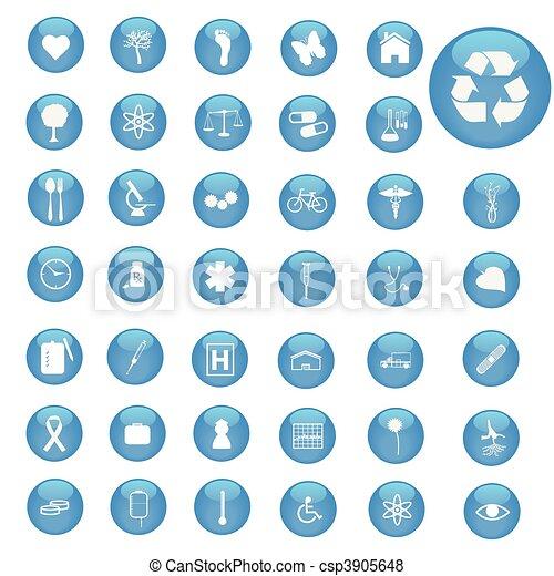 Web Buttons - csp3905648