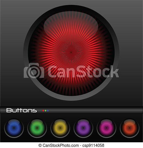 Web Buttons - csp9114058