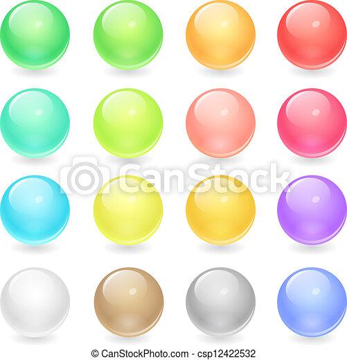 Web buttons - csp12422532