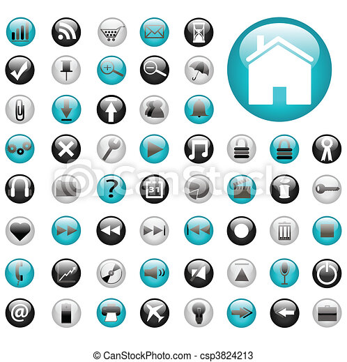 Web Buttons - csp3824213