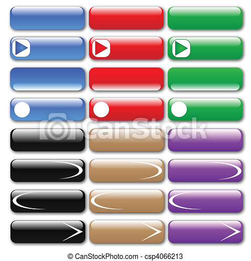 Web Buttons - csp4066213