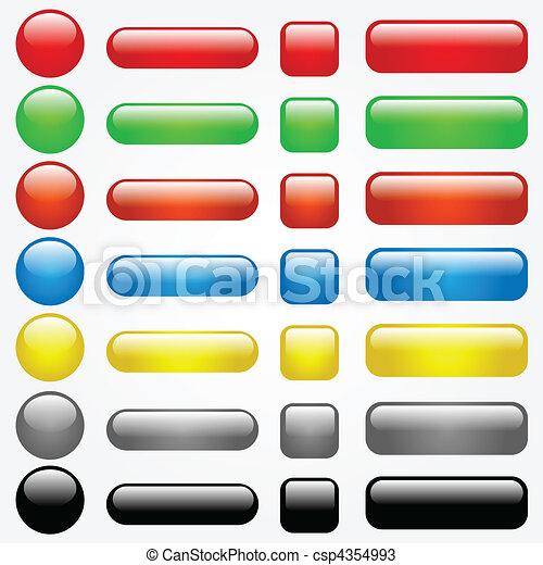 Web Buttons - csp4354993