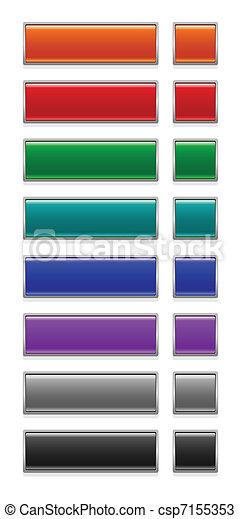 web buttons - csp7155353