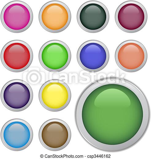 Web buttons - csp3446162