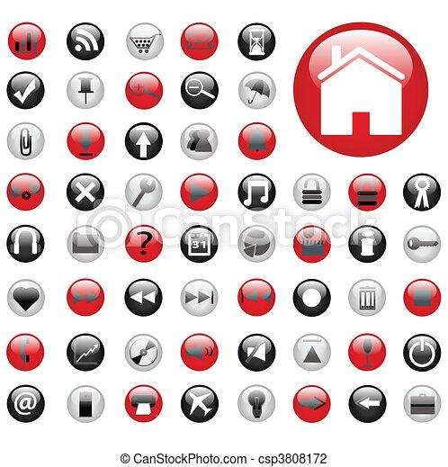 Web Buttons - csp3808172