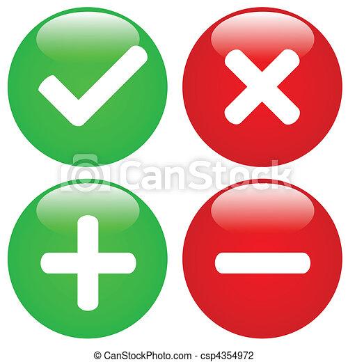 Web Buttons - csp4354972