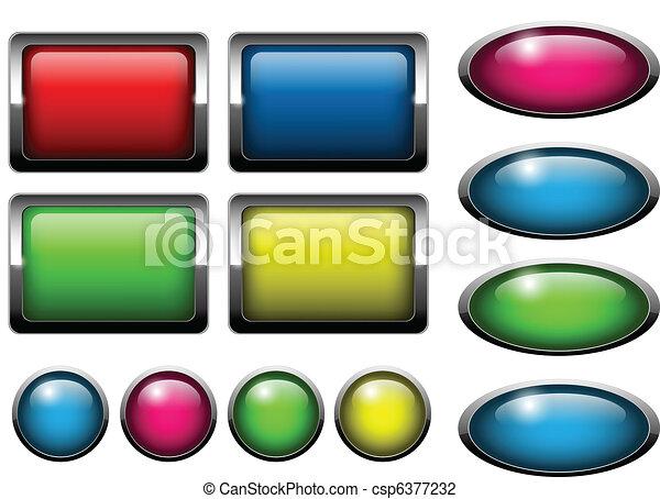 Web buttons - csp6377232