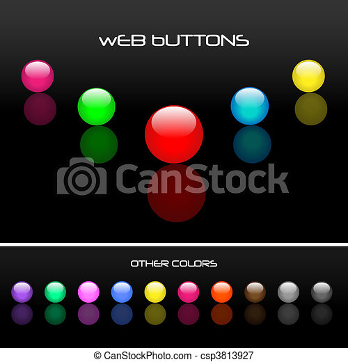 Web Buttons - csp3813927
