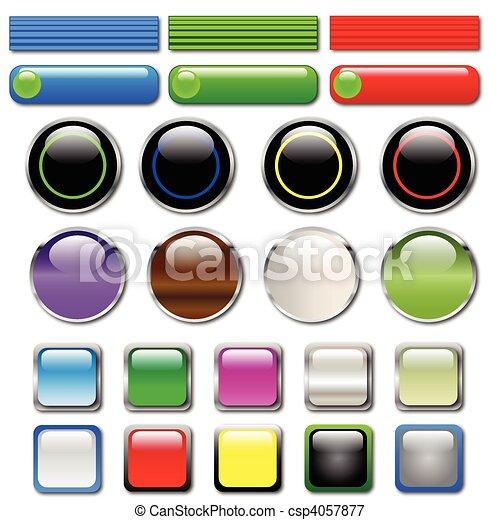 Web Buttons - csp4057877