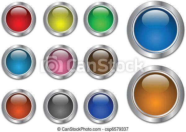 web buttons  - csp6579337