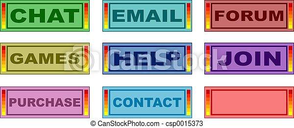 Web Buttons - csp0015373