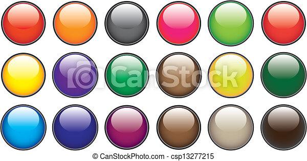Web buttons - csp13277215