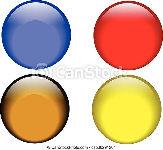 Web Buttons - csp30291204