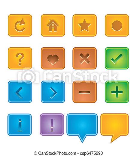 web buttons - csp6475290