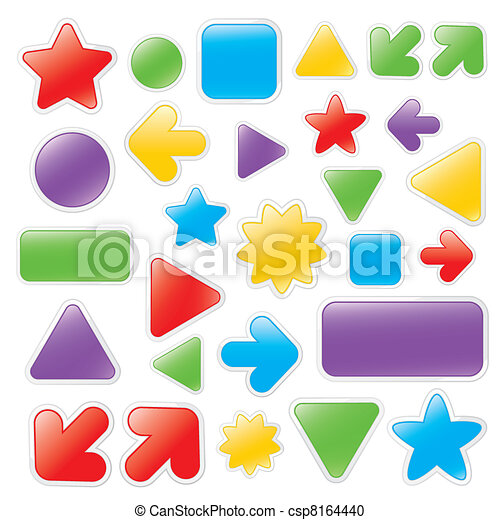 Web Buttons - csp8164440