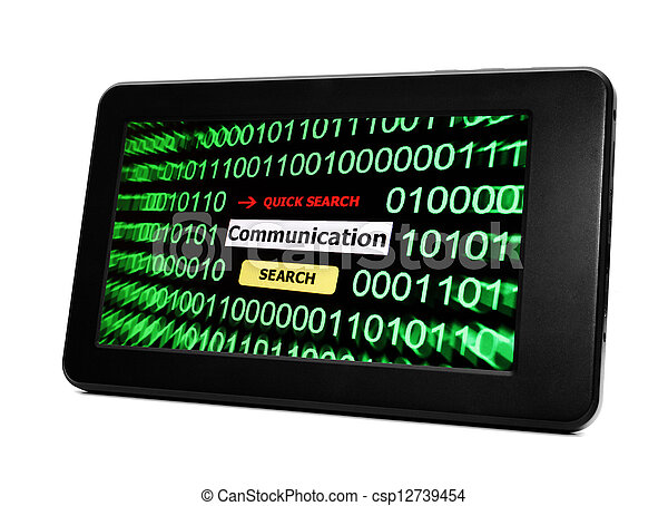 Web communication - csp12739454