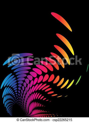 web, composizione, fondo, sagoma, (halftone) - csp22265215