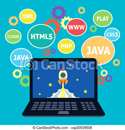 Web design coding - csp20539508