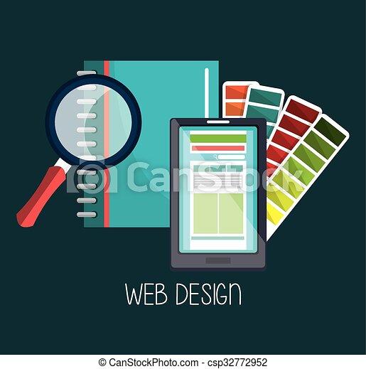 Web design development  - csp32772952