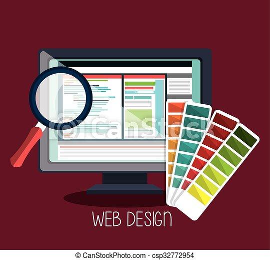 Web design development  - csp32772954