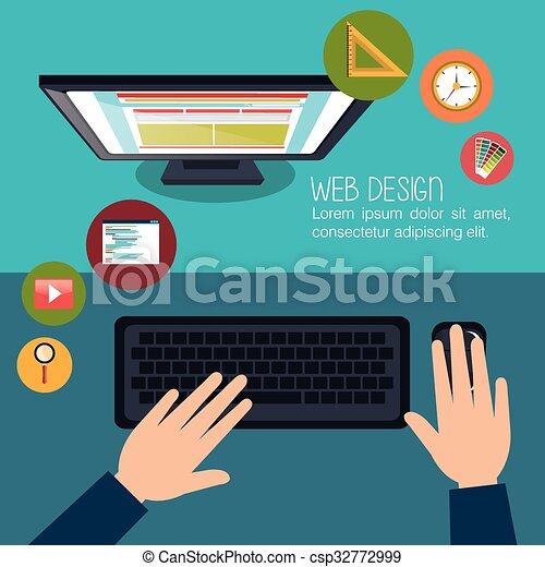 Web design development  - csp32772999