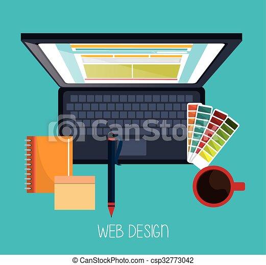Web design development  - csp32773042