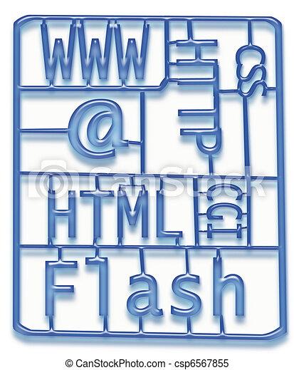Web Design Development Kit - csp6567855