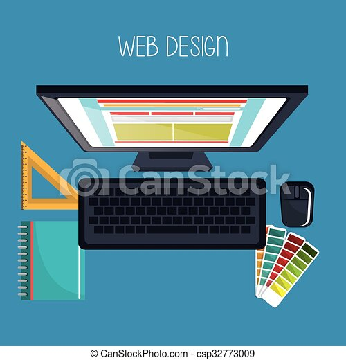 Web design development  - csp32773009