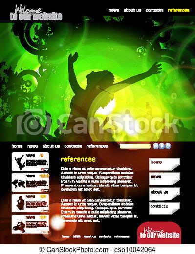 Web design template - csp10042064