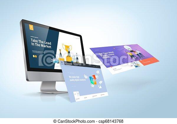 Web design template - csp68143768