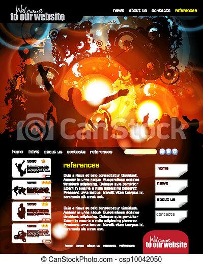 Web design template - csp10042050