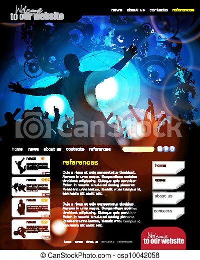 Web design template - csp10042058