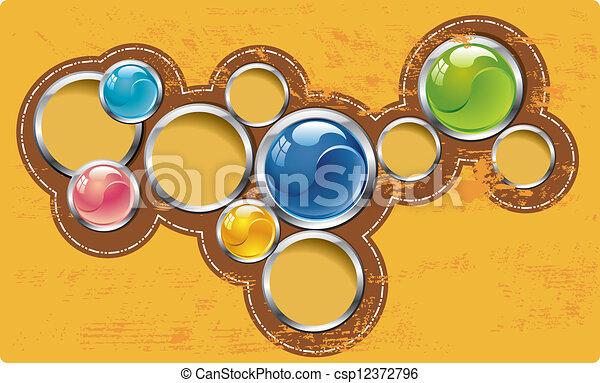 web design template - csp12372796